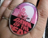 Retro Dawn of the Dead Cocktail Ring