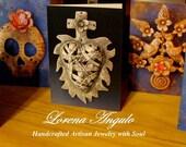 Lorena Angulo greeting cards (set of 4)