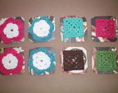 Crocheted  Barrettes (reserved for mfcunnally)