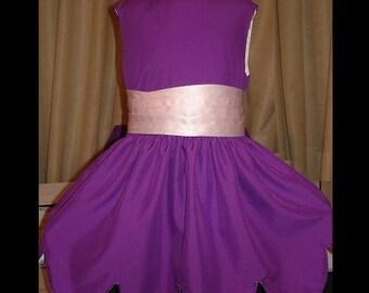 Little Einstein's June dress w/long Pink Sash(-----)Scalloped Lower edge(-----)Sizes 12 Months to girls size 6