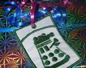 Dalek gift-card holder