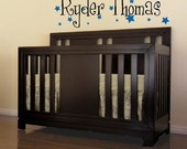 Personalized Name for wall or above crib Vinyl Wall Decor Decal Item KC43