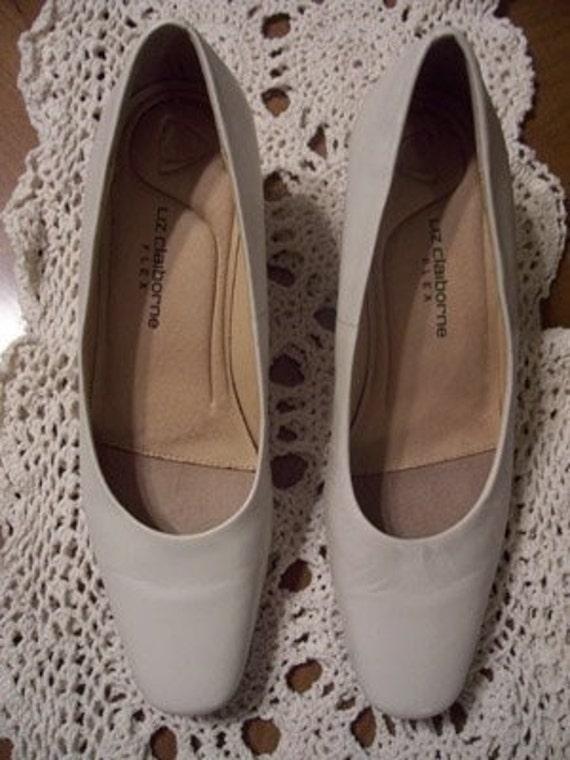 SALE - Vintage Designer LIZ CLAIBORNE Heels - Pumps - Shoes - Slip Ons - Size 7 M