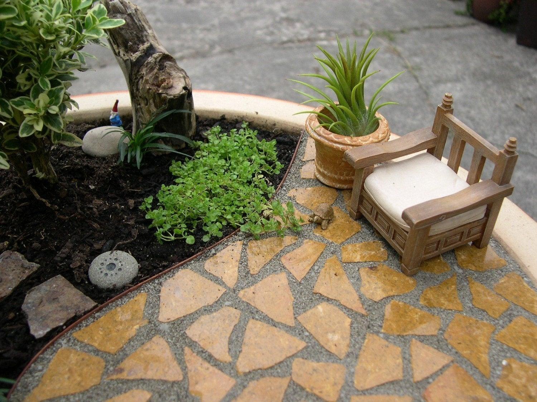Mini Patio Mix Kit For Miniature Gardens, Fairy Or Gnome Gardens, Create  Paths Or Patios That Wonu0027t Wash Away