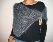 SALE - beautiful and extremely soft artistic wrap