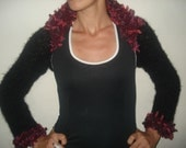 RESERVED SALE Elegant and very wearable shrug WAS 75