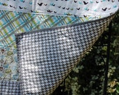 RESERVED FOR ALLY5503.... Little Birdy Baby Quilt ... great for boys or girls