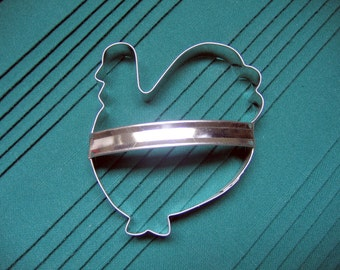 Turkey Cookie Cutter With Custom Handle Handmade By West Tinworks