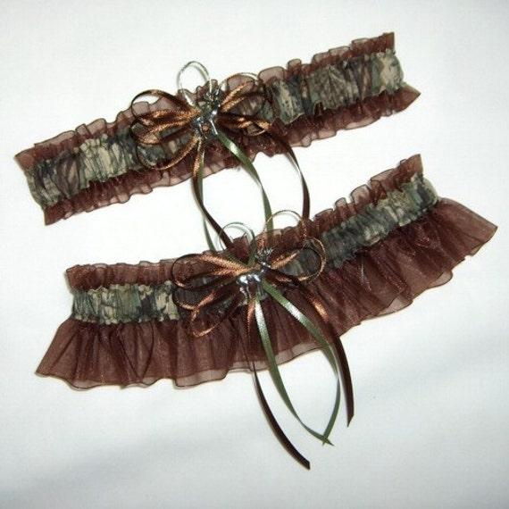 Items Similar To Deer Hunting Camouflage Wedding Garter