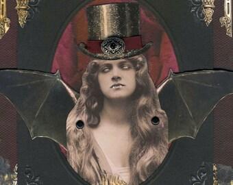 Vampire Art - Lysandra Porphyria - Undead Coed