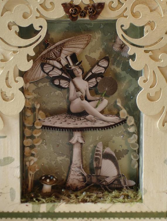 Mushroom Sprite Original SHADOWBOX