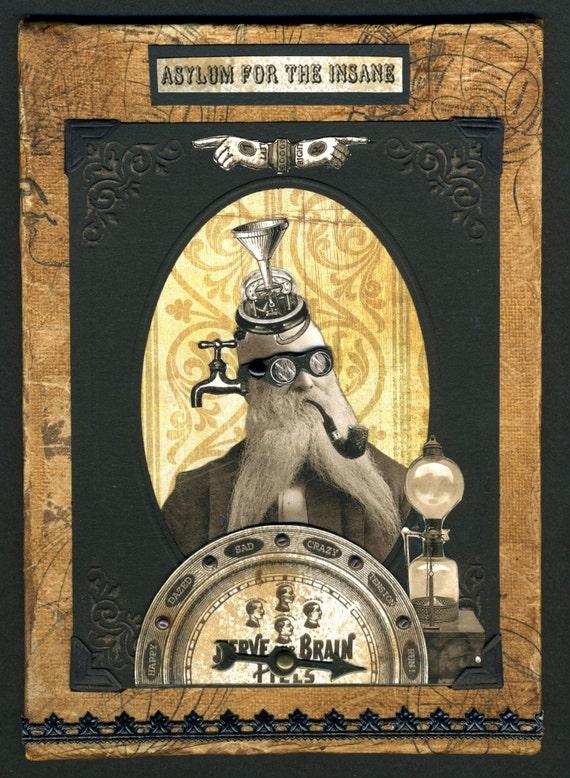 Steampunk Art - Obadiah Theremin, MD