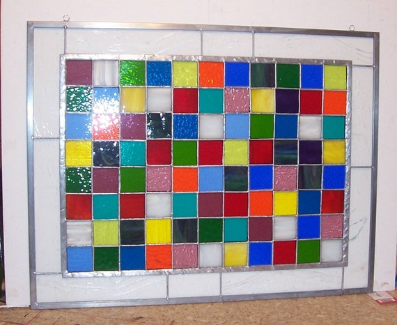 Patchwork Quilt Window Hanging (P-4)