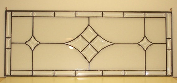 Stained Glass Window - Bevel Transom (TW-6)