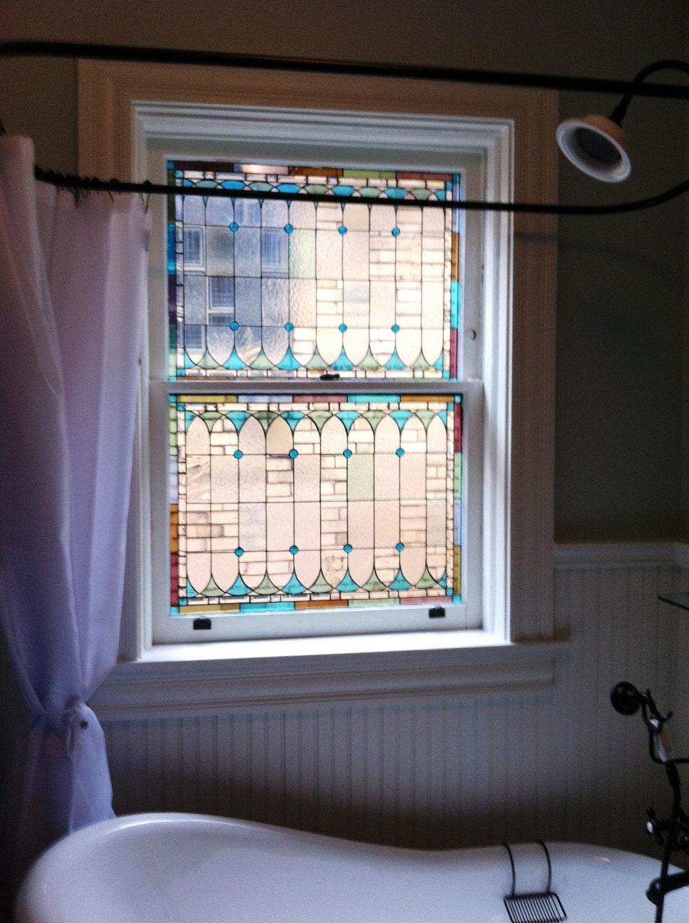 Original Stained Glass Window Panels Custom Designed W 25
