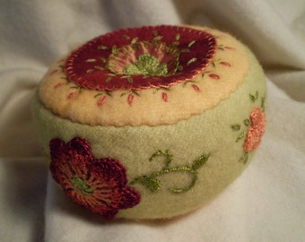 Ombre Flower Pincushion