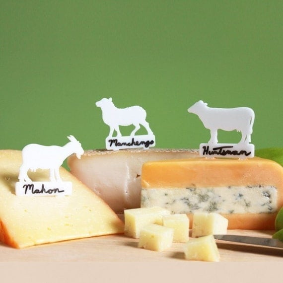 Writeable (Art)isan Cheese Markers