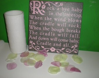 12 x 12 inch ceramic tile for your daughter or baby