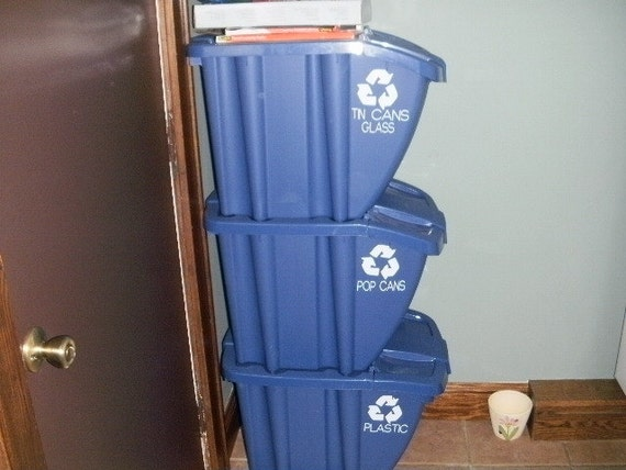 Recycle Vinyl decals set of three