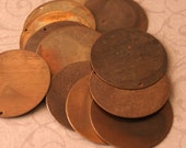 Large Altered Blanks 25mm for Jewelry, Scrapbooking and Altered Art by Vintaj