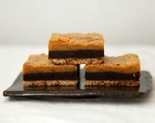 Chocolate Butterscotch Bar Cookies, Layered Bar Cookies, Butterscotch Blondie