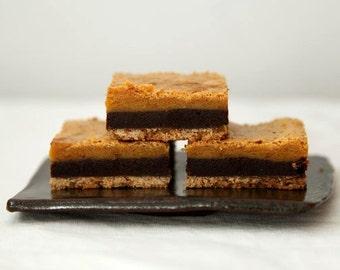 Chocolate Butterscotch Bar Cookies, Layered Bar Cookies, Butterscotch Blondie