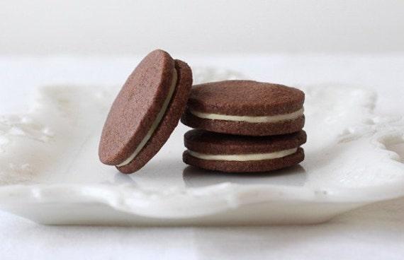 Earl Grey Sandwich Cookies