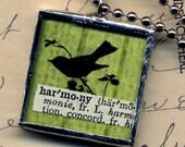 HARMONY Bird Pendant