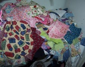 Fabric scraps RESERVED for KarleesBoutique
