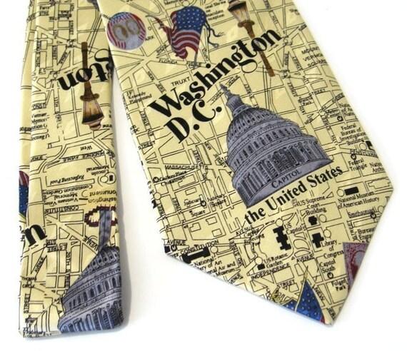 Washington Silk Necktie