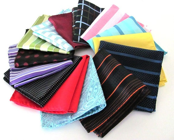 Six Pocket Squares