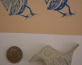 Sitting Bird Stamp