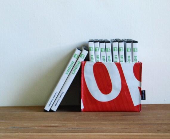 Recycled Billboard Banner Storage Bin (Small) No. 62-3 - Eco-Friendly