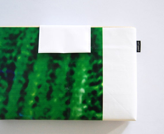 MacBook Air Sleeve Case 11 inch No. 11 - Recycled Billboard Banner - Eco-Friendly - EXPRESS SHIPPING