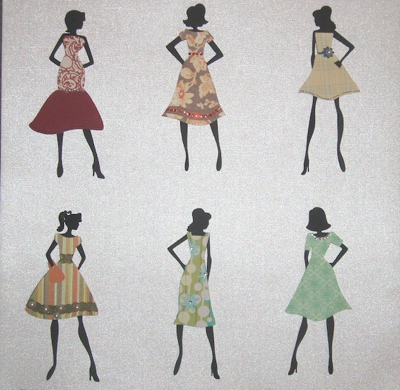 CLEARANCE Paper Doll Assortment for Scrapbooking 111