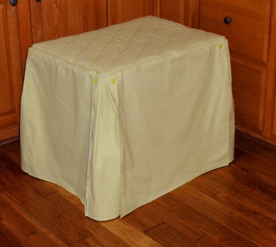 Basic Wire Crate Cover Size Small Amy Butler Solid Okra