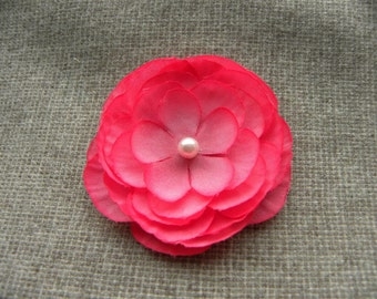 Madeline II Cherry Blossom Pink Hair Flower or Clothing Pin