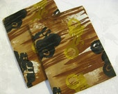 Reusable Snack Bags by Nana Brown's - Set of 2 in Dirt Bikes and Monster Trucks