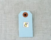75 Blue Shipping Tags size 3