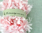 4 Yds of Pink Tissue Garland