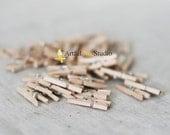 24 Mini Clothespins
