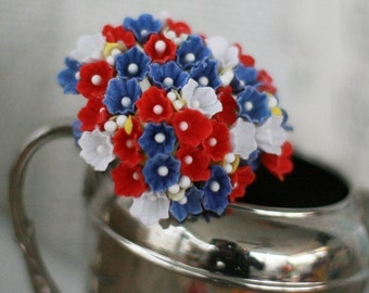 Red White and Blue Forget Me Not Mix