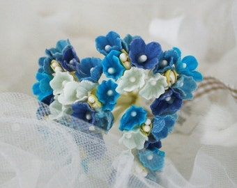 Blue Mix Forget Me Not Flowers