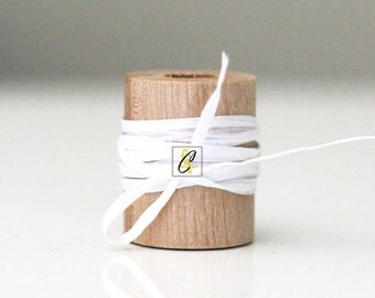 Wholesale 100 yards of white paper raffia ribbon/twine