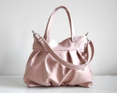 Mini Ruche Bag in Blush Pink - LAST ONE - Ready to Ship