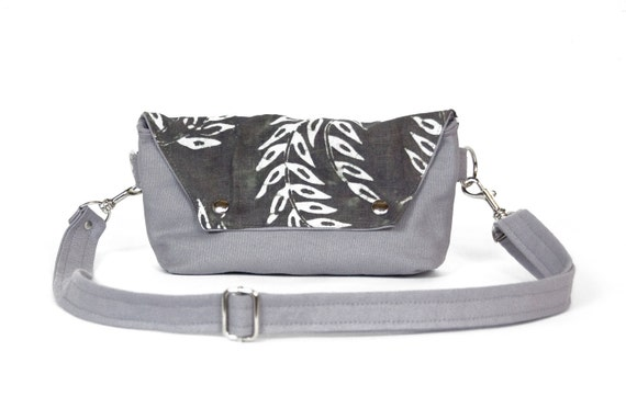 Traveler in Gray Wheat Margot Bianca Batik - LAST ONE - Ready to Ship