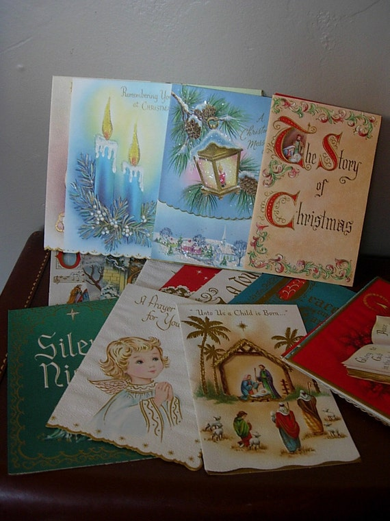 21 Boxed Set Christmas Cards with Bible Verses