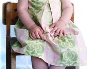 Garden Party Pinny Dress Sizes 1T, 2T or 3T