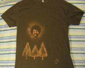 Bob Ross V2 Bleach Stenciled Shirt for Verbenacustomblends