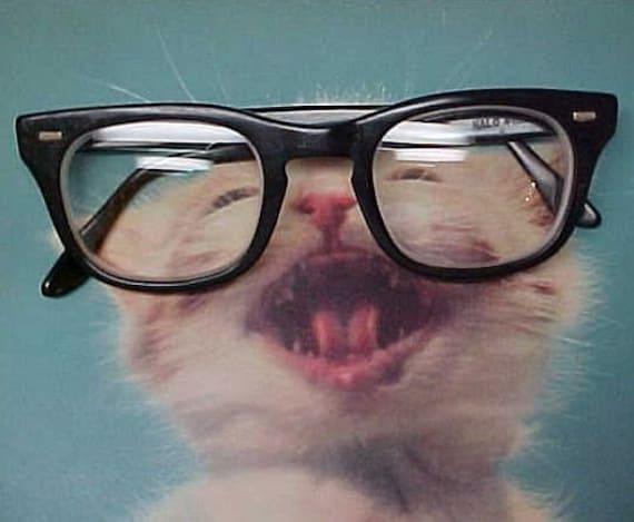 Mens Eyeglasses Frames Vintage 60s Eye Wear Glasses Mad Men